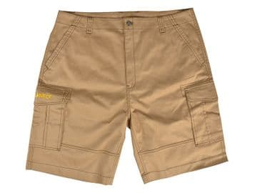 Khaki Work Shorts Waist 40in